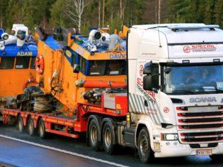 mobile concrete mixer truck