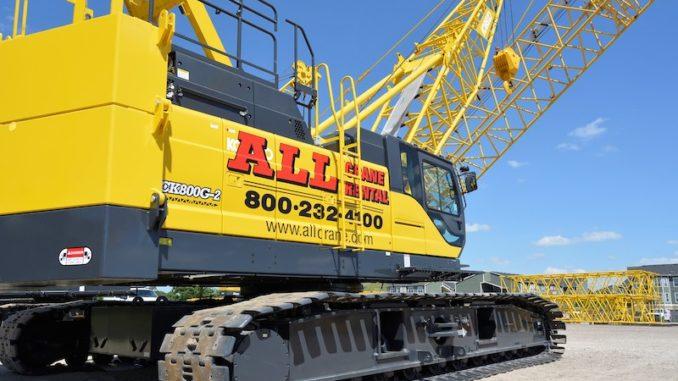 ALL Crane Buys Eight-Crane Package from Kobelco - Equipment