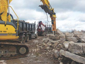 mobile concrete mixer remote location