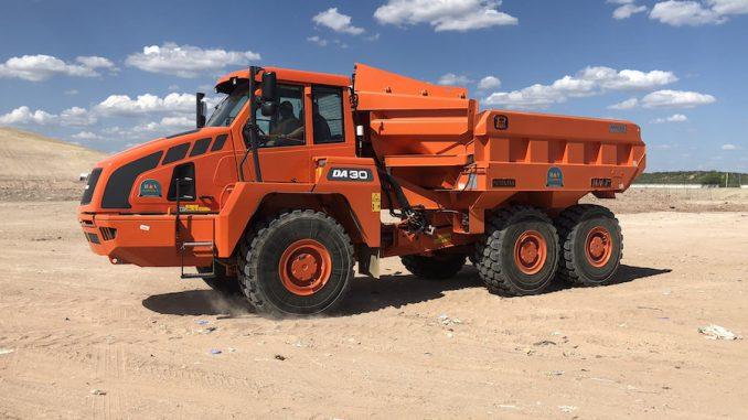 earthmoving loader