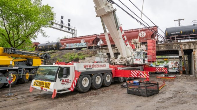 ALL Begins Warm-Weather Construction Season with Rail Bridge Rehab— While Train Schedule is Maintained
