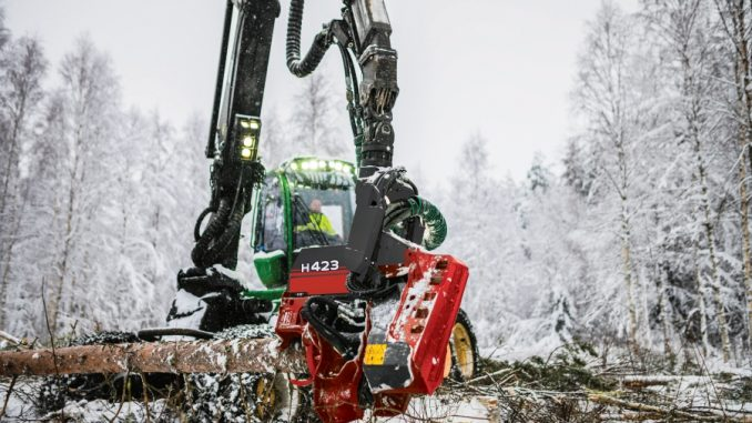 Waratah Forestry Equipment's New H423 Masters Fast, Precise Felling And Crosscutting