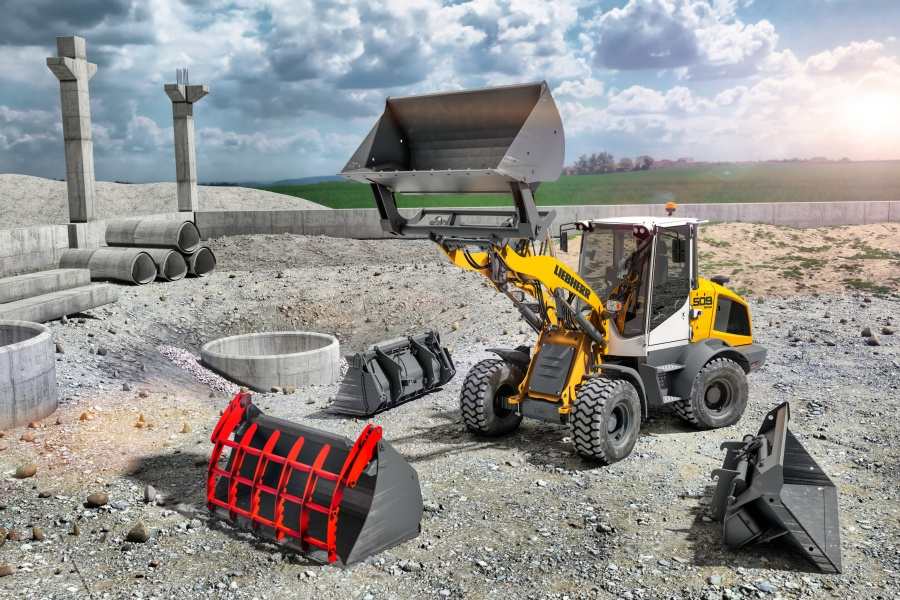 LIKUFIX quick-change system available for other Liebherr wheel loaders