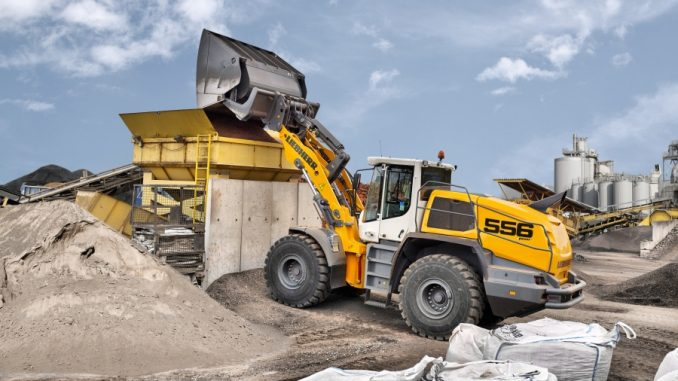 Expanded availability: LIKUFIX is now also available for a large number of Liebherr large wheel loaders, such as the L 556 XPower®