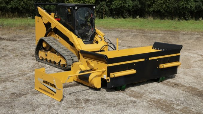 Maintenance with Road Widener's FH-R Attachment best road construction equipment