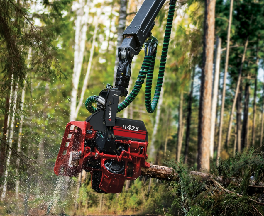 Waratah Forestry Equipment unveils new H425, H425HD and H425X harvester heads