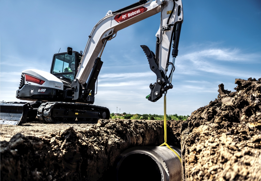Bobcat Company introduces new R2-Series E88 compact excavator