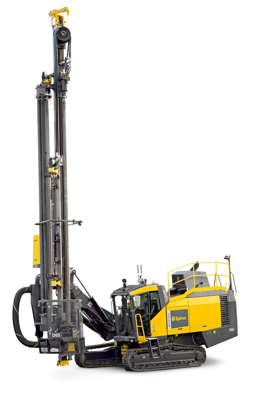 Epiroc M-series DTH hammers designed for maximum drill speed and productivity on SmartROC D65 machines