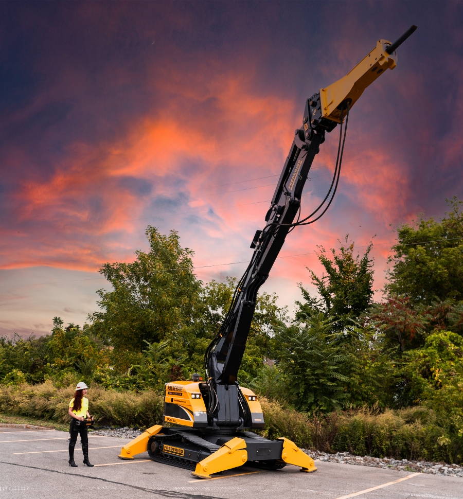 Demolition Company Operates North America's Largest Brokk