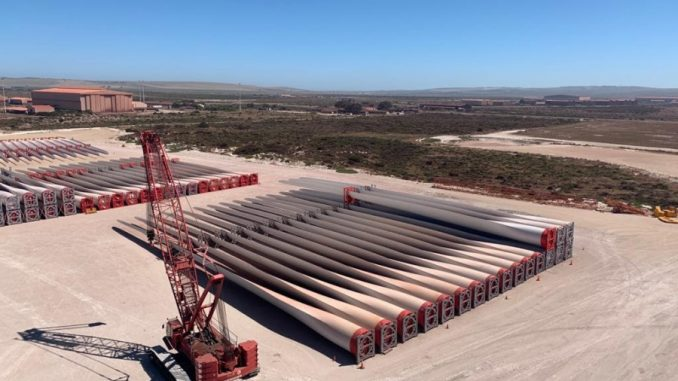 Mammoet Wind Projects Support South Africa's Renewable Energy Goals