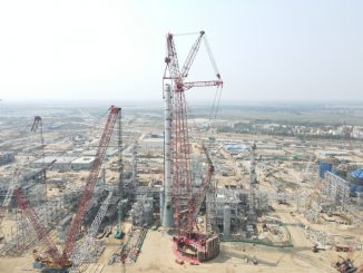 PT 50 Ring Crane Shortens Refinery Projects Schedule