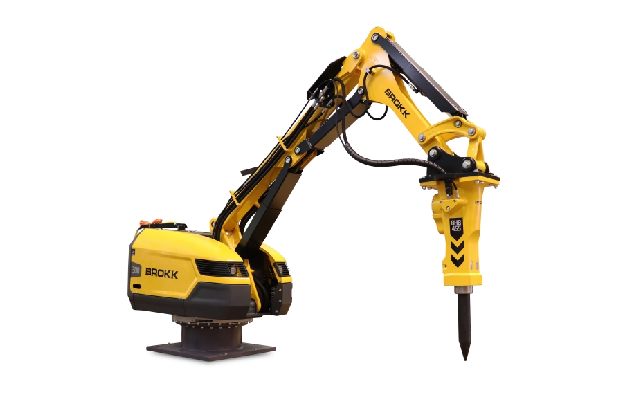 Brokk's demolition robots