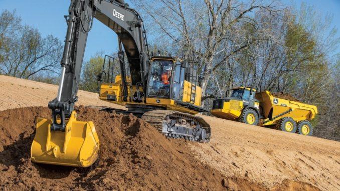 John Deere Expands SmartGrade™ Excavator Lineup With 470G Model