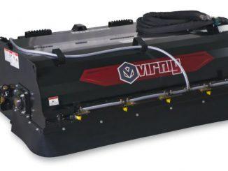 Virnig Introducing New Pick-Up Broom with Internal Water Tank